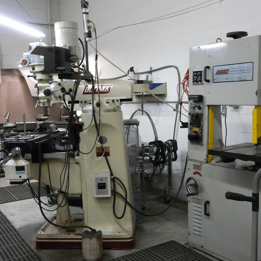 AGM CONTEST Machining Mill Bandsaw