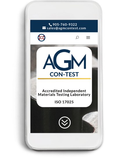 Materials testing laboratory AGM CONTEST contact phone email